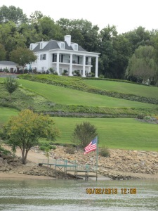 Oct 2 Cherry Mansion on TN River