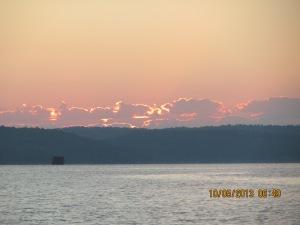 Oct 5 sunrise on TN River